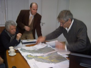 Avances en obras para prevenir inundaciones foto